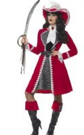 Deluxe Pirate  lady Captain Costume (45533)